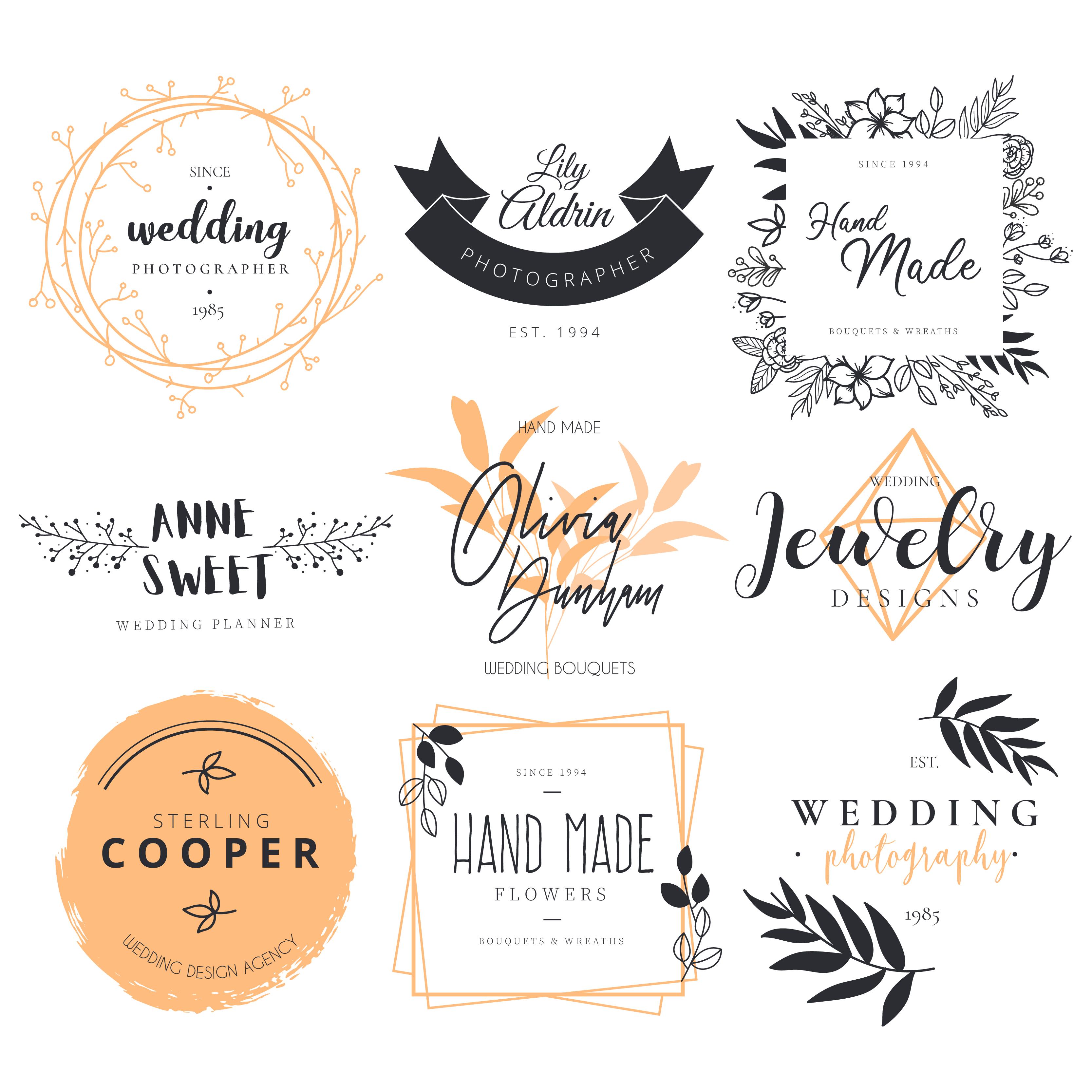 logo,wedding,fotografos